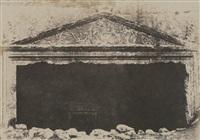 tombeau des juges, jérusalem by auguste salzmann
