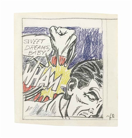sweet dreams baby study by roy lichtenstein