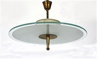 ceiling lamp by fontana arte