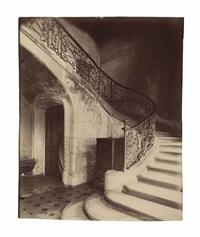 hôtel de la brinvilliers, l'empoisonneuse, rue charles v, 12, 1900 by eugène atget