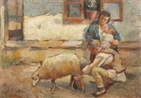 peasant family by nicolae enea