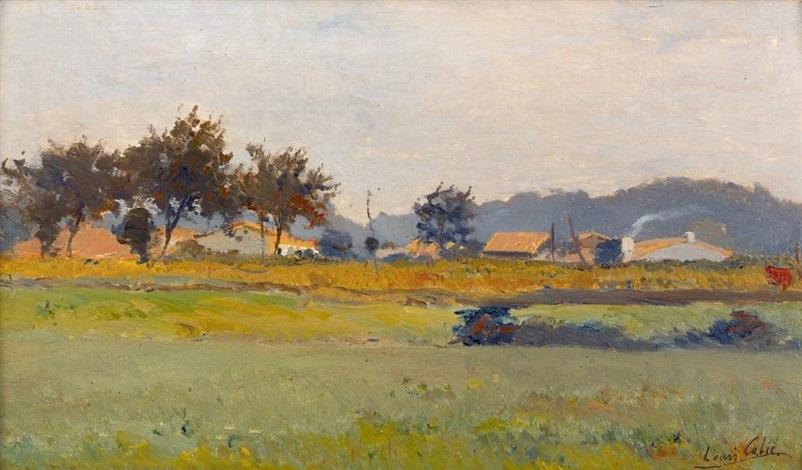 paysage du sud ouest by louis alexandre cabié