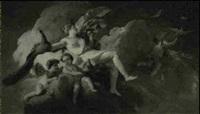 l'apotheose de junon by pierre-charles le mettay