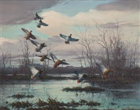 flight to the backwaters by harry curieux adamson