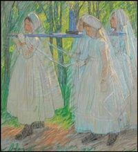 procession by mary alexandra eastlake