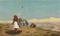 la prière dans le désert (collab. w/studio) by jean-léon gérôme