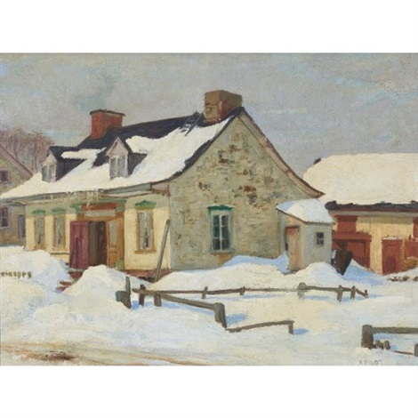 Maison canadienne by Robert Wakeham Pilot on artnet
