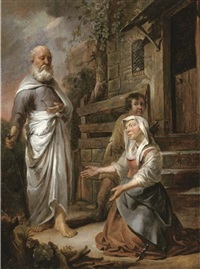 elijah and the widow of zarephath by hendrik heerschop