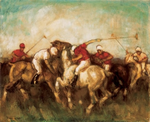 horse polo by paul udvary