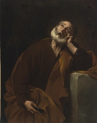 the penitent saint peter by jusepe de ribera