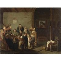 interno di taverna by hans bollongier