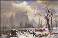 charged particles in motion by kent monkman