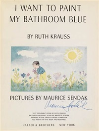 i want to paint my bathroom blue by maurice sendak