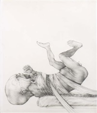 sans titre (bébé hurlant) by peng wan-ts