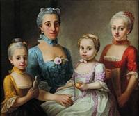 portrait de famille by sebastiano ceccarini