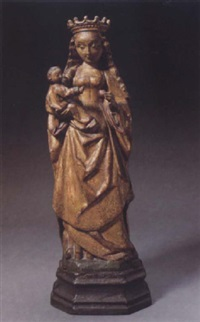 the virgin and child by flemish school-malines (16)