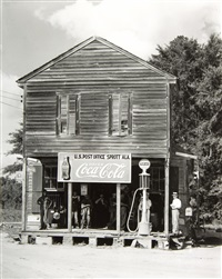 crossroads general store and post office, sprott, alabama (and 31 others) by walker evans