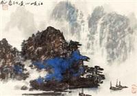 江峡小景 by lei zhengmin