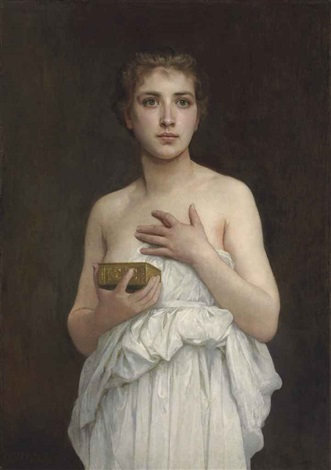 pandore by william adolphe bouguereau