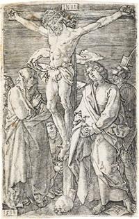 christ on the cross by albrecht dürer