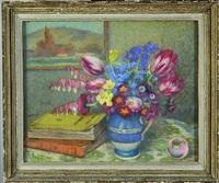 bouquet de fleurs by hippolyte madelaine