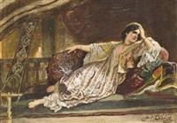 madame adolf dillens, née thérese legros by adolf alexander dillens