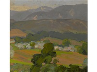 rolling hills of splendor by franz arthur bischoff