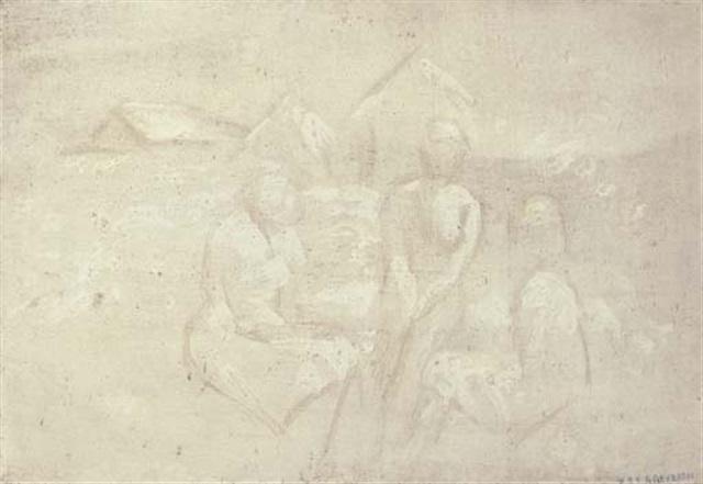 tres figuras by armando reverón