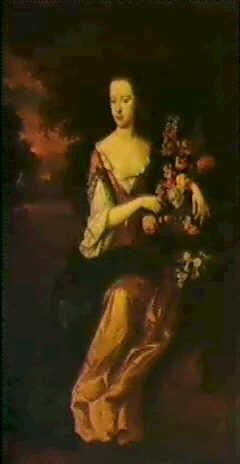 portrait of anne packer b 1677 by john van der vaart