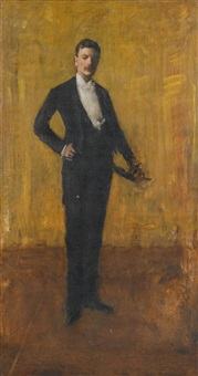 colbert huntington greer by william merritt chase
