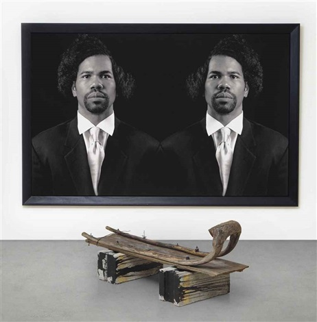 the new negro escapist social and athletic club emmett in 2 parts by rashid johnson