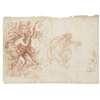 eco e narciso (+ figura femminile, verso) by giovanni bilivert