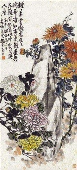 菊石图 by zhao yunhe