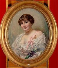 portrait d'une dame de qualité by jean mayne
