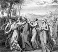 el purgatorio, dante. canto xxxi by carlos luis de ribera y fieve