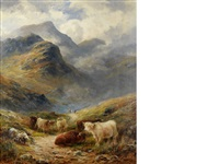 a highland drive in glencoe by george turner