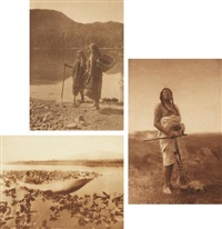 selected images from the north american indian (8 works) by edward sheriff curtis