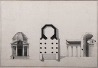 un temple octogonal (design) by giacomo quarenghi