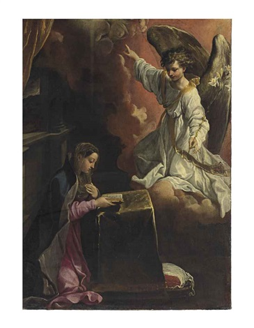 the annunciation by annibale carracci