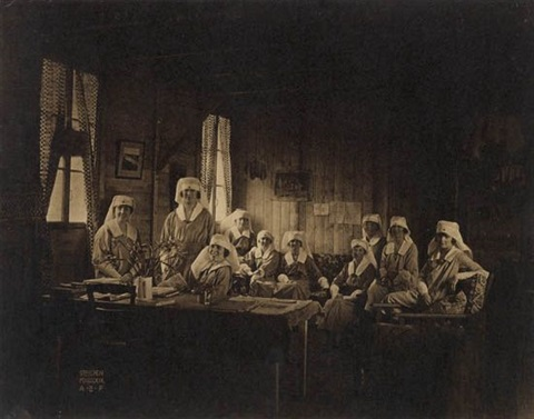 red cross nurses world war i by edward steichen