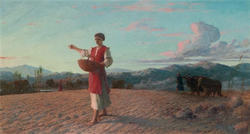 the sower by john rogers herbert