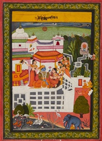 a provincial bundi barhmasa painting by anonymous-indian (19)