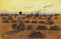 aratók - harvesters by odön tull