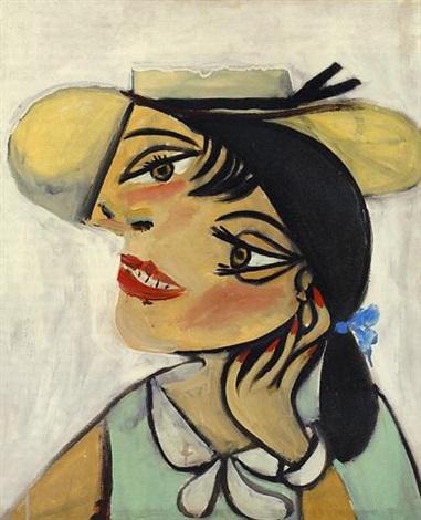 Femme au chapeau de paille Dora Maar by Pablo Picasso on artnet