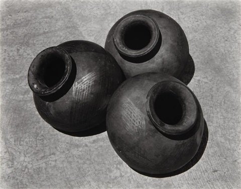 tres ollas by edward weston