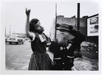 dance in brooklyn, new york by william klein