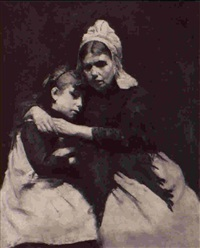 mother and child by alexander gerhard anton van rappard