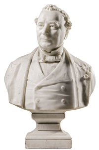 bust of isaac pereire by antoine-samuel adam-salomon