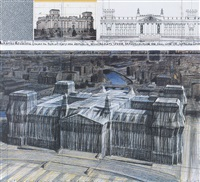wrapper reichstag berlin by christo and jeanne-claude