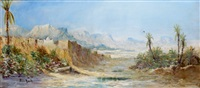 paysage du sur marocain by pierre auzole